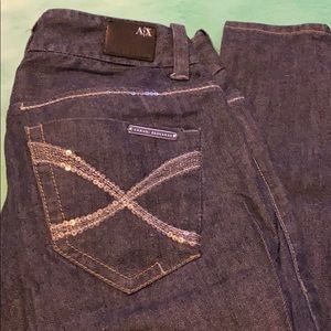 AX Armani Exchange size 0 jeans with side zippers